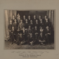 Photograph of Council of the Students 1924-1925