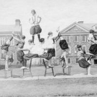 Photograph of Dalhousie University gym show