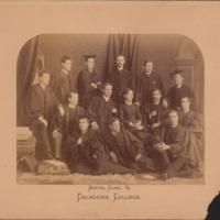 Photograph of Dalhousie College Senior Class of 1885