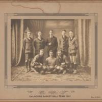 Photograph of Dalhousie Basket Ball Team, 1921