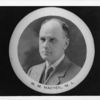 Photograph of M. M. Macneill