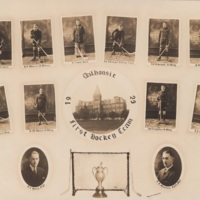 Composite Photograph of Dalhousie First Hockey Team 1925