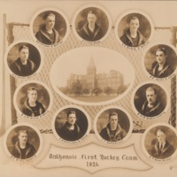 Composite Photograph of Dalhousie First Hockey Team 1924
