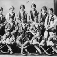 Photograph of Dalhousie girls field hockey team