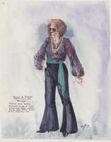Costume design for Monique