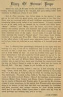 Diary of Samuel Peeps