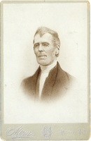 Reproduction of a pastel drawing of Thomas McCulloch