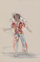 Costume design for Oberon