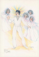 Costume design for Teen Angel and Angelettes