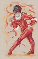 Costume design for male dancer